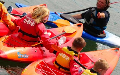 New Kayak Storage bays at the Mount Batten Centre!