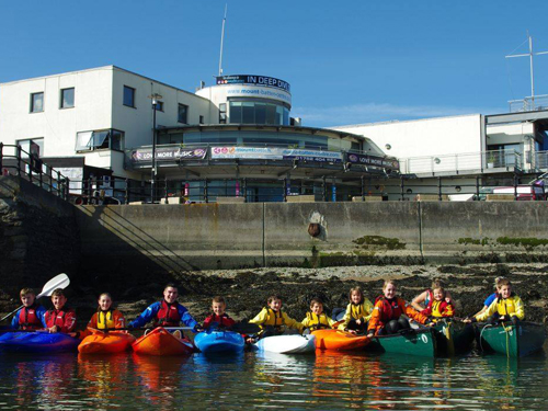 Stgand Up paddleboarding plymouth