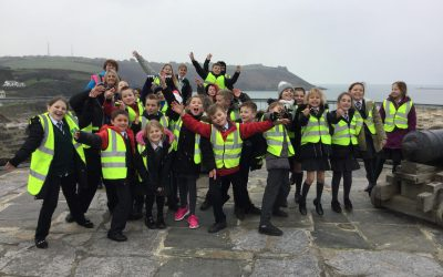 Hooe Primary Academy visit the Mount Batten Tower