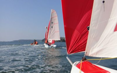 Get qualified before the summer sailing season starts on our February 2019 Dinghy Instructor Course