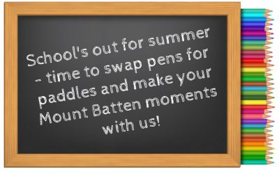 Time to swap pens for paddles this summer!