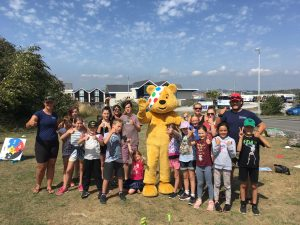 Pudsey at the Mount Batten Centre