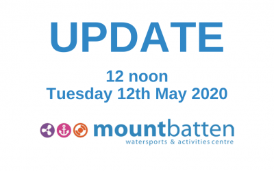 Update 12 noon Tuesday 12th May 2020
