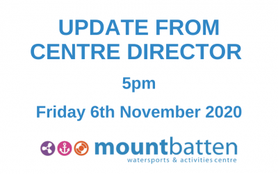 Centre Director update: Friday 6th November 5pm