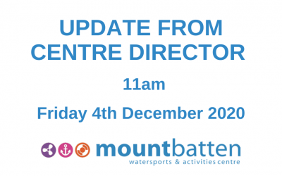 Centre Director update: 11am Friday 4th December 2020