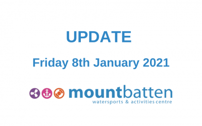 Update 8th January 2021