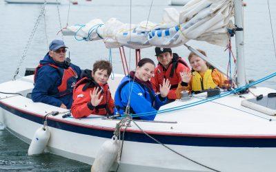 Sailors of Tomorrow set sail during the May Half Term