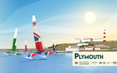 SailGP comes to Plymouth!